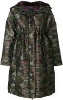Tatras camouflage empire line coat