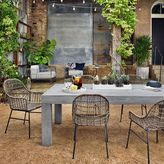 west elm Modern Teak Outdoor Dining Table