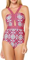 Laundry by Shelli Segal Pink One Piece