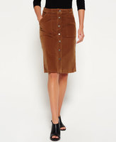 Superdry A-Line Midi Cord Skirt