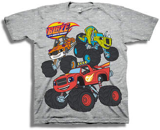 Nickelodeon Toddler Boys Graphic Tees Boys Crew Neck Short Sleeve Blaze and The Monster Machines Graphic T-Shirt-Toddler
