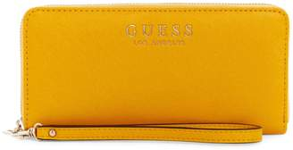 GUESS Large Alby Floral Zip Wallet