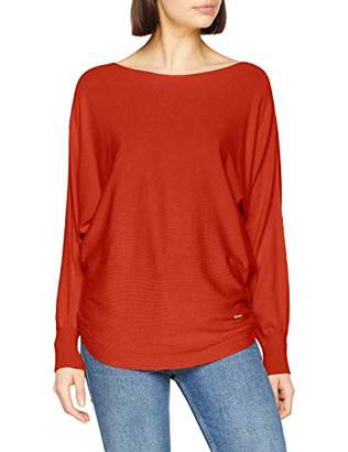 More & More Women's Pullover Jumper, Red (Tangerine Red 05), 12 (Size: )