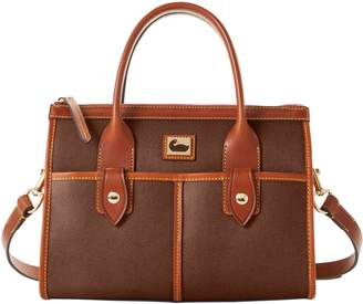 Dooney & Bourke Camden Saffiano Small Satchel