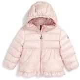 Moncler Infant Girl's 'Odile' Hooded Down Jacket