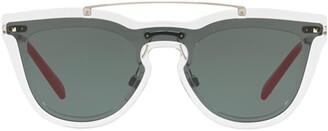 Valentino Eyewear Cat Eye Frame Sunglasses