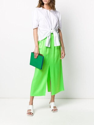 Maison Rabih Kayrouz Flared Midi Skirt