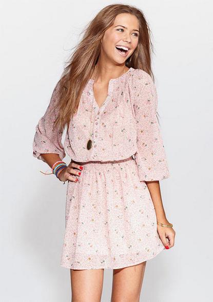 Delia's Elle Chiffon Dress