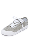 Rag & Bone Standard Issue Perforated Lace Up Sneakers