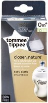 Tommee Tippee 9-Ounce Bottle, Clear, 1-Pack
