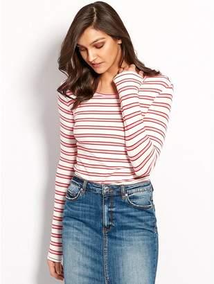 M&Co Vero Moda stripe top