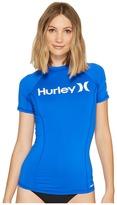 Hurley One Only S/S Rashguard Women's Swimwear