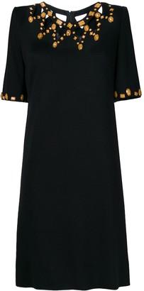 A.N.G.E.L.O. Vintage Cult Cutout Neck Short Dress