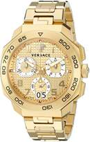 Versace Men's VQC040015 DYLOS CHRONO Analog Display Swiss Quartz Watch