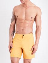 La Perla Solid Bermuda swim shorts