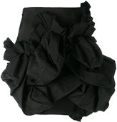 DSQUARED2 short ruffle skirt - women - Silk/Polyester - 38