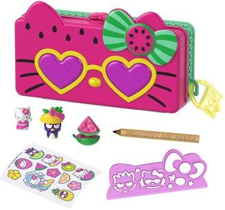 Hello Kitty Watermelon Beach Vacation Pencil Playset