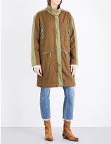 Free People Tallis cotton parka coat