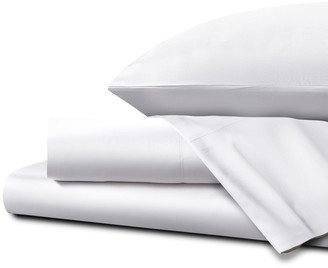 Homestead UK Double Ultra Soft Sateen Sheet Set - White