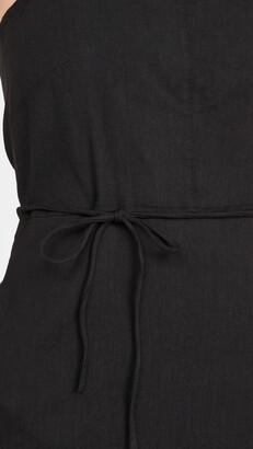 Vince Square Neck Halter Dress