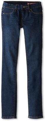 Blank NYC Kids Dark Denim Skinny Jeans in Super (Big Kids) (Super) Girl's Jeans