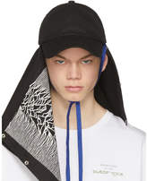 Raf Simons Black Joy Division Unknown Pleasures Substance Baseball Cap