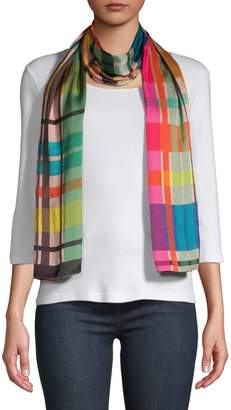 Echo Multicoloured Plaid Scarf