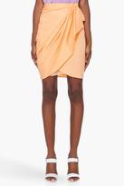 3.1 PHILLIP LIM Faded Orange Wrap Skirt