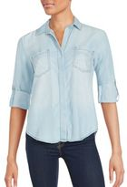 Saks Fifth Avenue RED Riley Relaxed Tencel Shirt