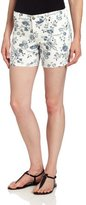 Vince Camuto Two by Women's Jean Shorts In Porcelain Flowers
