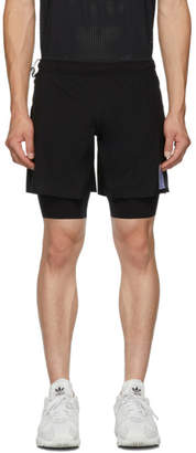 Satisfy Black JusticeTM Trail Long Distance 10 Inches Shorts
