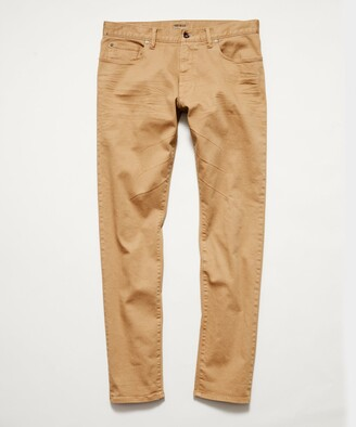 Todd Snyder Straight Fit 5-Pocket Chino In Barley