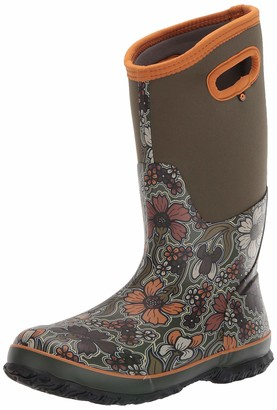Bogs Womens Classic Tall Waterproof Insulated Rain Boot