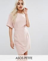 Asos Mini Smart Woven Dress With V Back