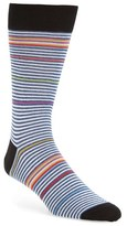 Bugatchi Men's 'Rainbow Stripe' Socks