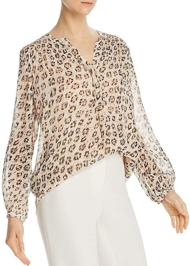 65ea3d4ad2e895 Leopard Silk Blouse - ShopStyle