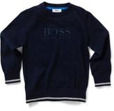 HUGO BOSS Boys Knitted Pullover (6)