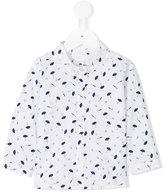 Burberry umbrella print shirt - kids - Cotton - 12 mth