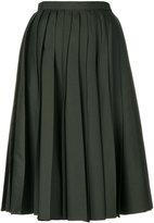 No.21 pleated full skirt