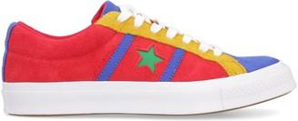 Converse Multicolor Suede Sneakers