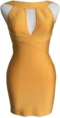 Balmain \N Yellow Dress for Women