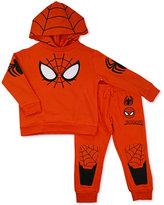 Nannette 2-Pc. Spider Man Hooded Shirt & Pants Set, Toddler & Little Boys (2T-7)