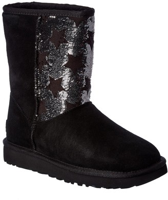UGG Classic Sequin Stars Suede Short Boot