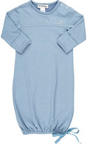 Poeme & Poesie Pointelle-Knit Elephant Gown