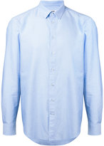 MSGM classic long sleeve shirt - men - Cotton - 39