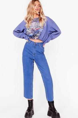 Nasty Gal Womens Vintage Just Wash Me Mom Jeans - Blue - S