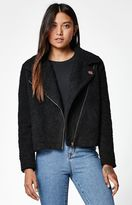 Obey Arctic Sherpa Fleece Moto Jacket