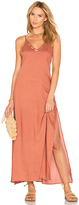 Tori Praver Swimwear Kora Maxi Dress in Pink. - size 1/S (also in 2/M,3/L)
