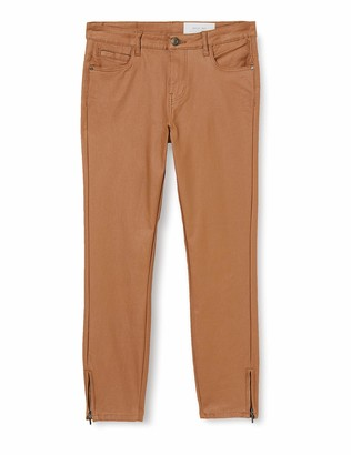 Noisy May Women's NMKIMMY NW Skinny Coated Pants S Trouser