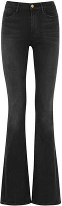 Frame Le High Flare Dark Grey Jeans